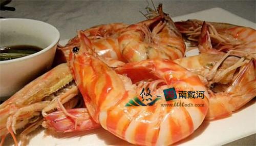 南戴河海鲜对虾